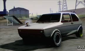 volkswagen golf mk1 modified volkswagen golf mk1 gti for gta san andreas
