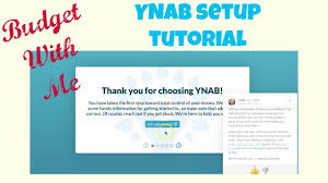 budget with me ynab set up tutorial youtube