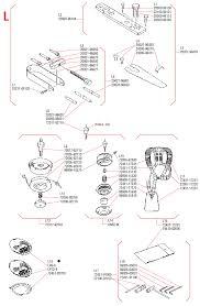 shindaiwa rc45 brushcutter illustrated parts diagrams lawnmower pros