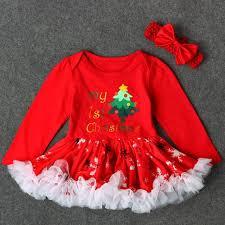 sets for girls baby girls letter princess tutu dress christmas