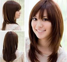 highlight korean hairstyles for round faces 1000 ideas about