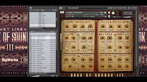 book of sounds iii beat demo sound review kontakt vst