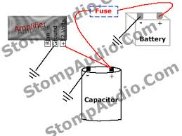 farad capacitor wiring diagram