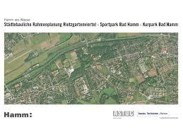 Bad Hamm Städtebauliche Rahmenplanung Rietzgartenviertel U2013 Sportpark Ost