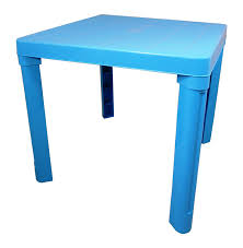 childrens plastic table and chairs high quality blue kids children plastic table home garden picnic