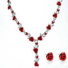 african beads necklace sets images Fashion vintage necklace earrings wedding bridal jewelry sets for jpg