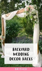 Ideas For A Backyard Wedding Mesmerizing Backyard Wedding Reception Decorations 84 About Ideas