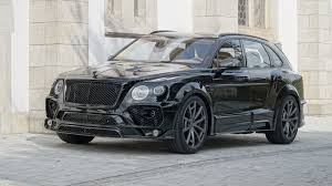 suv bentley 2017 price 2017 bentley bentayga by mansory review top speed