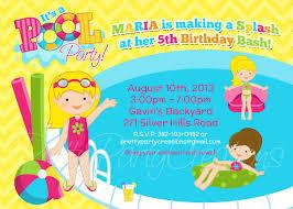 backyard birthday party invitations outdoor goods