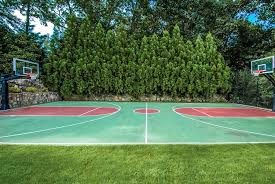 full basketball court at rock hill park by cooper smith