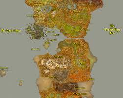 Eastern World Map by Greywolf U0027s World Of Warcraft Fan Site Travel
