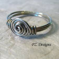 simple metal rings images Silver serpent studio 39 s blog diy simple wire wrapped ring tutorials jpg