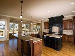 Kitchen With Center Island Luxury Center Island Kitchen With View Stock Photo Image Of Oven
