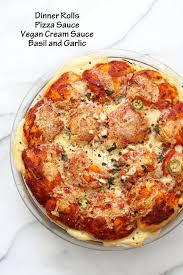 cheesy pull apart pizza bread vegan richa