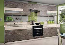 komplett küche komplett küche 270cm schränke zebrano birne de küche