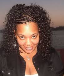 Braided Hairstyles With Weave Cornrows In The Front Hair Weave In The Back Black Hairstyles