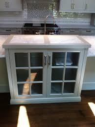 black and white modern kitchen design with dark cabinetry ideas