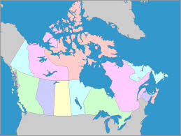 canadian map capitals interactive map of canada