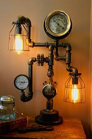 Diy Steampunk Home Decor 18 Gorgeous Steampunk Machine Age Lamps Homes And Hues