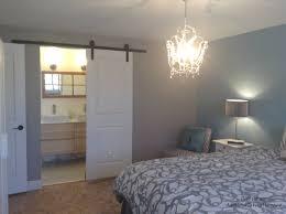 Barn Door Bedroom by Master Bedroom Barn Door Open Showing Bathroom After Add Value