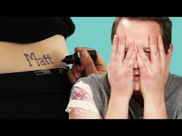 tattoo prank app people prank their s o with a tattoo of their name