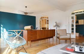 Bleu Canard Peinture by Charmant Salle De Bain Bleu Petrole 5 Indogate Deco Salon Bleu
