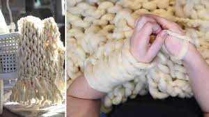 6 Diy Ways To Make by How To Make An Arm Knit Blanket In Less Than An Hour Video The