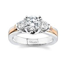 3 engagement ring barkev s 3 two tone engagement ring 6713lt barkev s