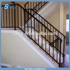 factory price custom wrought iron handrails outdoor indoor stairs