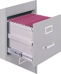 Precision Filing Cabinet Staples 2 Drawer Letter Size Vertical File Cabinet Putty 26 5