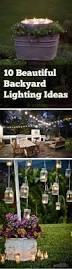 Lighting Ideas For Backyard 10 Beautiful Backyard Lighting Ideas Bless My Weeds