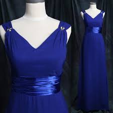 royal blue chiffon bridesmaid dresses bridesmaid dress royal blue empire straps with