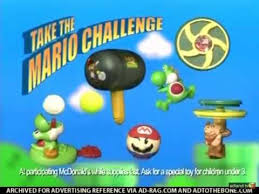Challenge Commercial Mcdonald S Take The Mario Challenge Commercial 2006