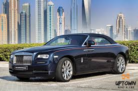 roll royce dubai up town rent a car