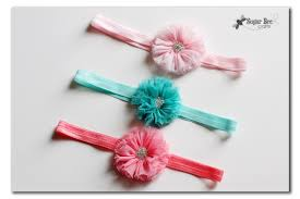 how to make baby hair bands easy elastic hair ties and headbands no sew with hairbow