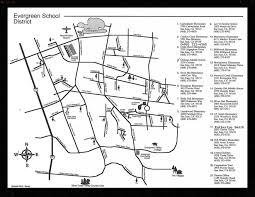 San Jose District Map by Evergreen District View A Map Of