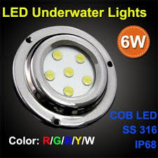 rgb led puck lights ip68 100 waterproof stainless 316 housing led puck lights id
