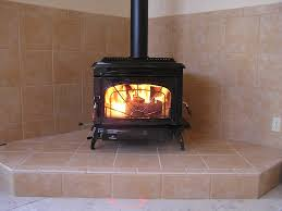 tile simple tiled wood burning stoves decor modern on cool