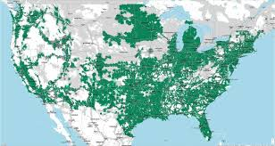 Verizon Coverage Map Wisconsin by Coverage Map Updated 6 17 16 Tmobile
