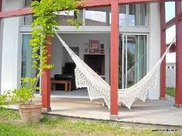 chambres d hotes urrugne chambre d hôtes muriska vue sur le hamac de la terrasse picture of
