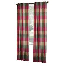 Allen And Roth Blinds Shop Allen Roth Emilia 84 In Raspberry Polyester Rod Pocket