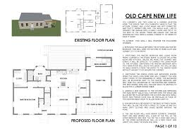 cape floor plans cape cod renovation floor plan wonderful plans the new yorker old