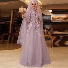 pink lace wedding dress vintage sleeve muslim wedding dress civil blush pink