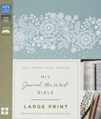 origin of the word love niv journal the word bible large print hardcover black