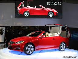 lexus hardtop convertible 4 door lexus is 250c convertible raises the heat in sydney