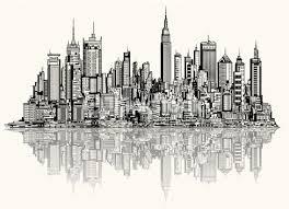 sketch of new york vector art thinkstock