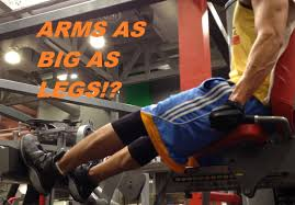 arms as big as legs countdown to halloween gym day youtube