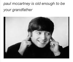 The Beatles Meme - but paul used to be so cute it s not a phase pinterest beatles