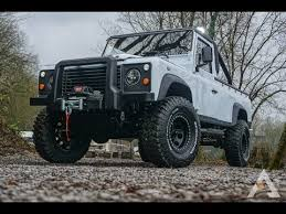 range rover defender pickup land rover defender 110 pick up youtube