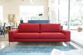Red Chairs For Living Room by Furniture Red Sofa With Metal Legs By Lazar Furniture For Living